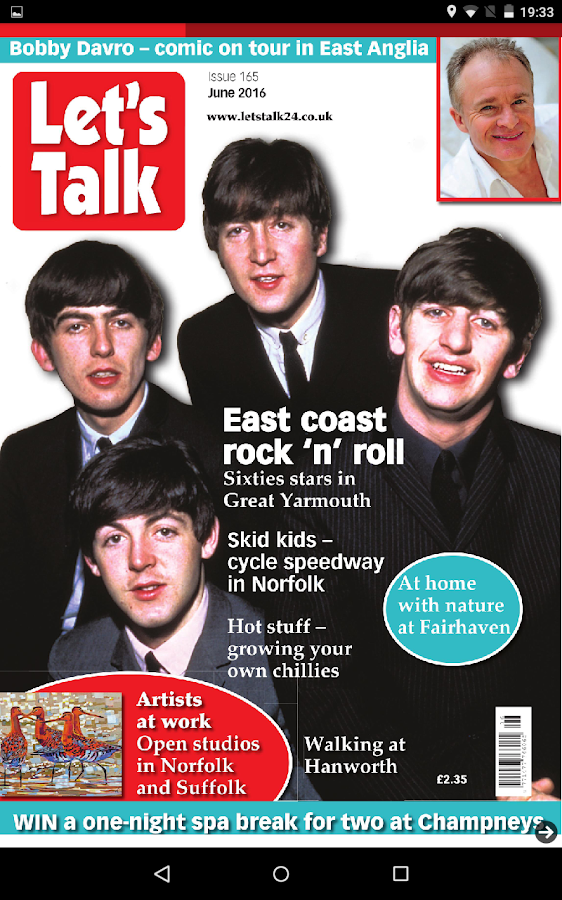 Let's Talk Magazine- screenshot