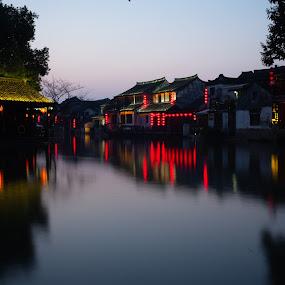 Xi Tang 2 by Xianwen Xu - City,  Street & Park  Street Scenes ( xi tang, vacation, old town, leica, morning )