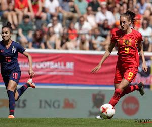 """Tessa Wullaert rendeert nog beter in nieuw systeem Red Flames: """"Speel graag op die manier"""""""