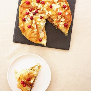 Moroccan Turkey Filo Pie Recipe