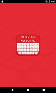 Turkish Keyboard 2018 - náhled