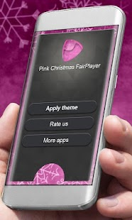 Pink Vánoce Player Kůže - náhled
