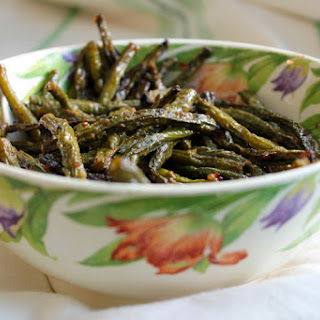 Miso Roasted Green Beans