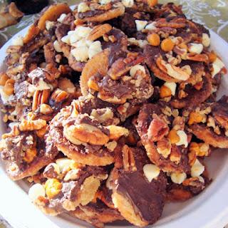Ritz Cracker Candy.