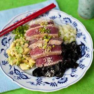 Seared Tuna Sushi Bowl.