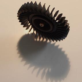 Cooling Fan Laptop  by H Scott Burd - Artistic Objects Technology Objects ( shadow plastic )