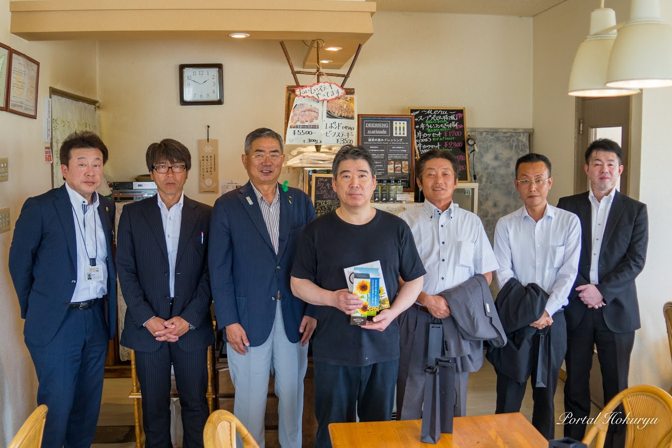 古川博幸オーナーと記念撮影