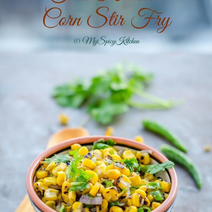Fire Roasted Corn Stir Fry, Semi Homemade Recipe