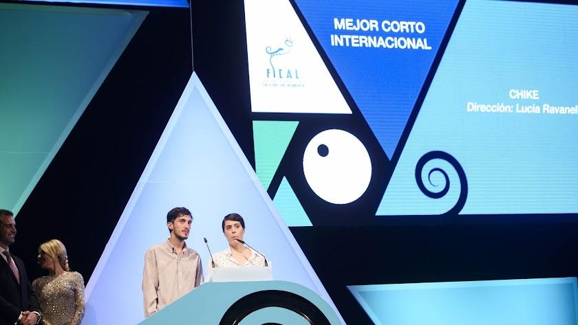 Lucía Ravanelli ganó el premio al mejor cortometraje internacional de Fical el año pasado con su trabajo 'Chike'.