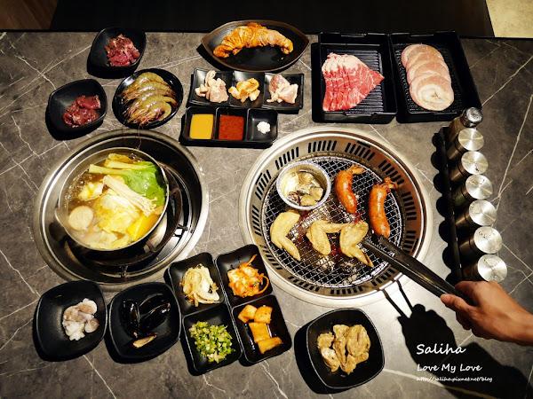 田季發爺燒肉吃到飽逢甲店,火烤兩吃499元,必吃推薦