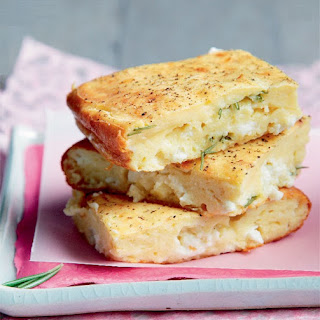 Fast and Easy Yoghurt Cheesebread with Herbs Recipe