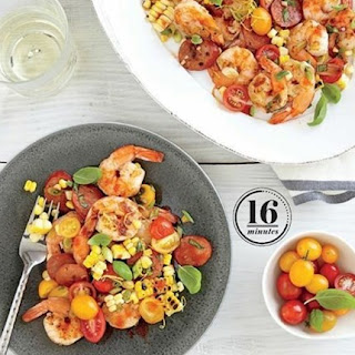 Weight Watchers Shrimp, Chorizo, And Corn Salad