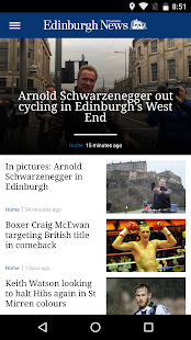 Edinburgh Evening News- screenshot thumbnail