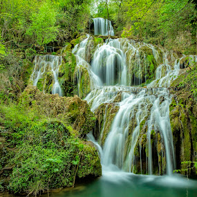 Krushuna's waterfall. by Mihail Marzyanov - Landscapes Mountains & Hills