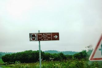 Photo: BRETANYA 2013. Ruta cap al Pont de Térénez, que dóna accés a la península de Crozon.