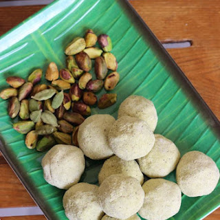 Pista Ladoo Recipe – Sweet Pistachios Balls.