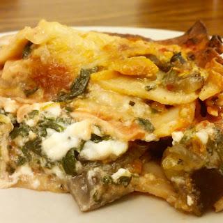 Vegetarian Lasagna.