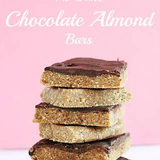 No Bake Chocolate Almond Bars.