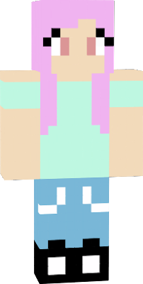 This is a pastel version pf my skin, and will possibly be used in upcoming Minecraft Jams' videos