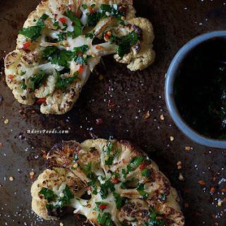 Cauliflower Steak Recipes.