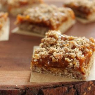 No-Bake Pumpkin Butter Oat Bars