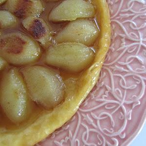 Pear and Cardamom Tatin Tart