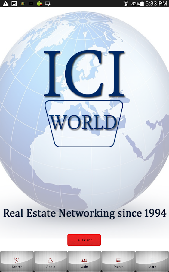 ICIWorld.com- screenshot
