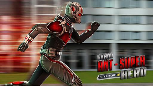 New Grand Ant Superhero City Rescue Mission 2018 1.0 1