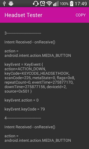 玩免費程式庫與試用程式APP|下載Headset Controls Tester app不用錢|硬是要APP