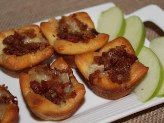 Bacon Brie Tarts Recipe