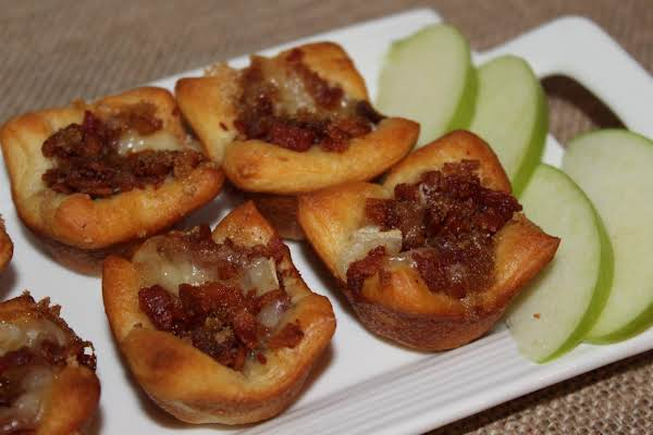 Bacon Brie Tarts