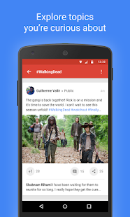 Google+- screenshot thumbnail