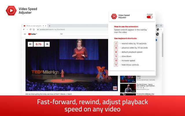 Video speed adjuster