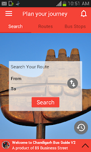 Chandigarh Bus Guide Pro- screenshot thumbnail
