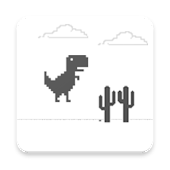 Dino Jumping Chrome