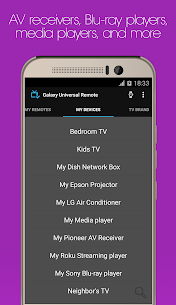 Galaxy Universal Remote APK 5