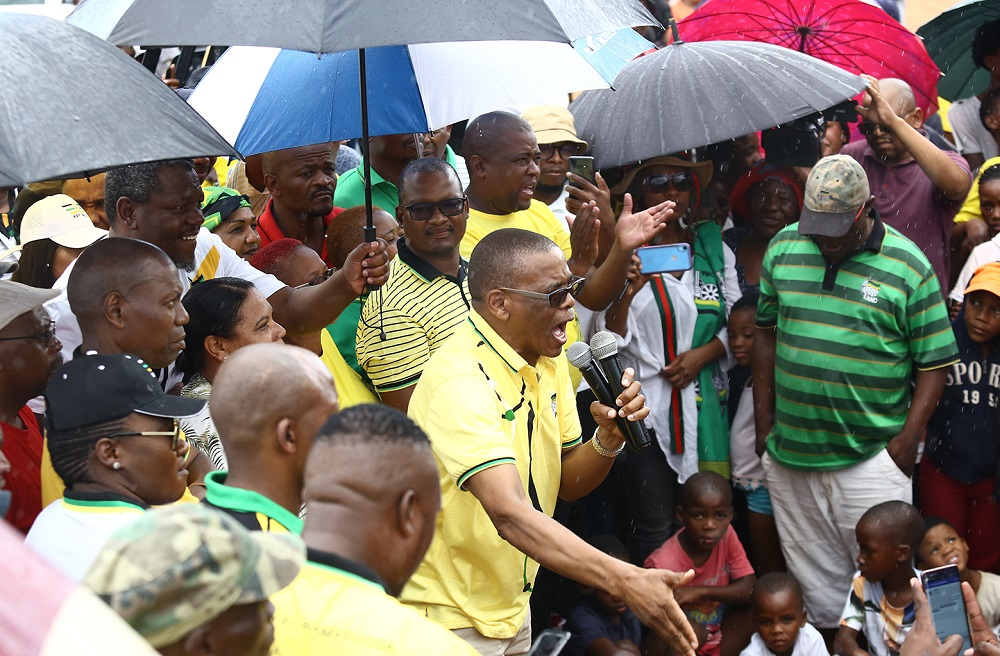 ANC not only for card-carrying members, Magashule tells Northern Cape community - TimesLIVE