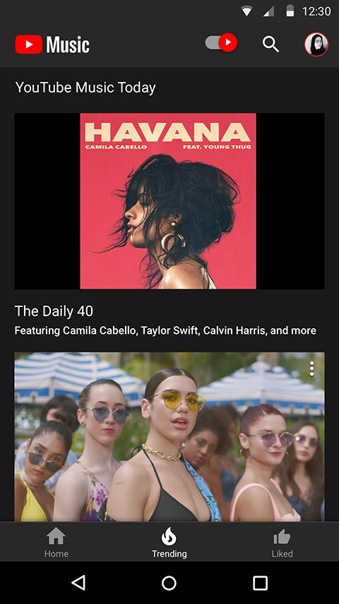 YouTube Music- screenshot
