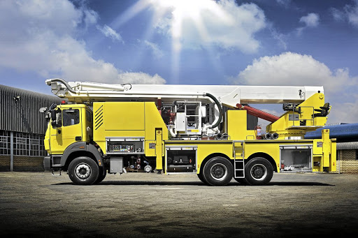 The Powerstar Fire Engine showcases one of many possible applications outside of the construction realm.