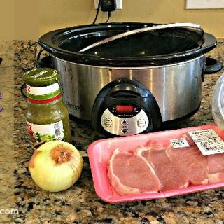 Easy Crockpot Pork Salsa Verde