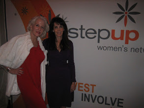 Photo: With Barbara Segal at the Step Up Women's Network Luminary Party