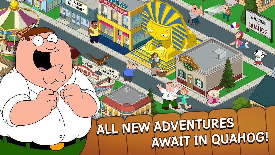 Family Guy The Quest for Stuff Android App Screenshot