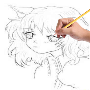 drawing anime step by steps screenshot thumbnail