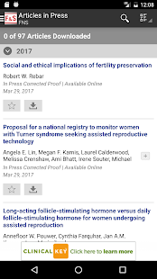 Fertility and Sterility®- screenshot thumbnail