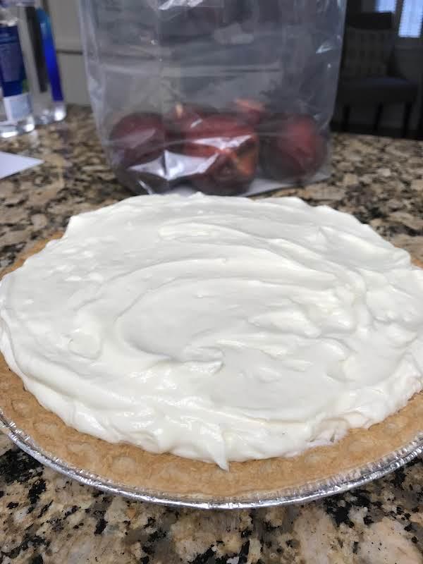 Peaches & Cream Cheese Pie Recipe