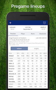 Baseball MLB 2017 Schedule & Scores: PRO Edition - náhled