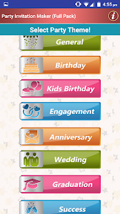 Make party invitation cards apps on google play screenshot image stopboris Images