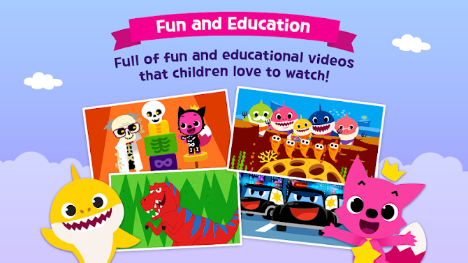 PINKFONG TV - Kids Baby Videos Android 10