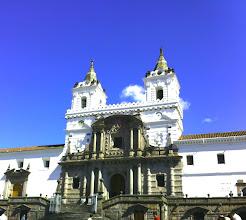 Photo: Iglesias de San Francisco, Old Town, Quito