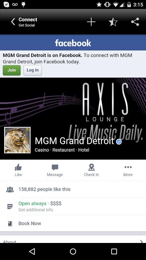 MGM Grand Detroit- screenshot